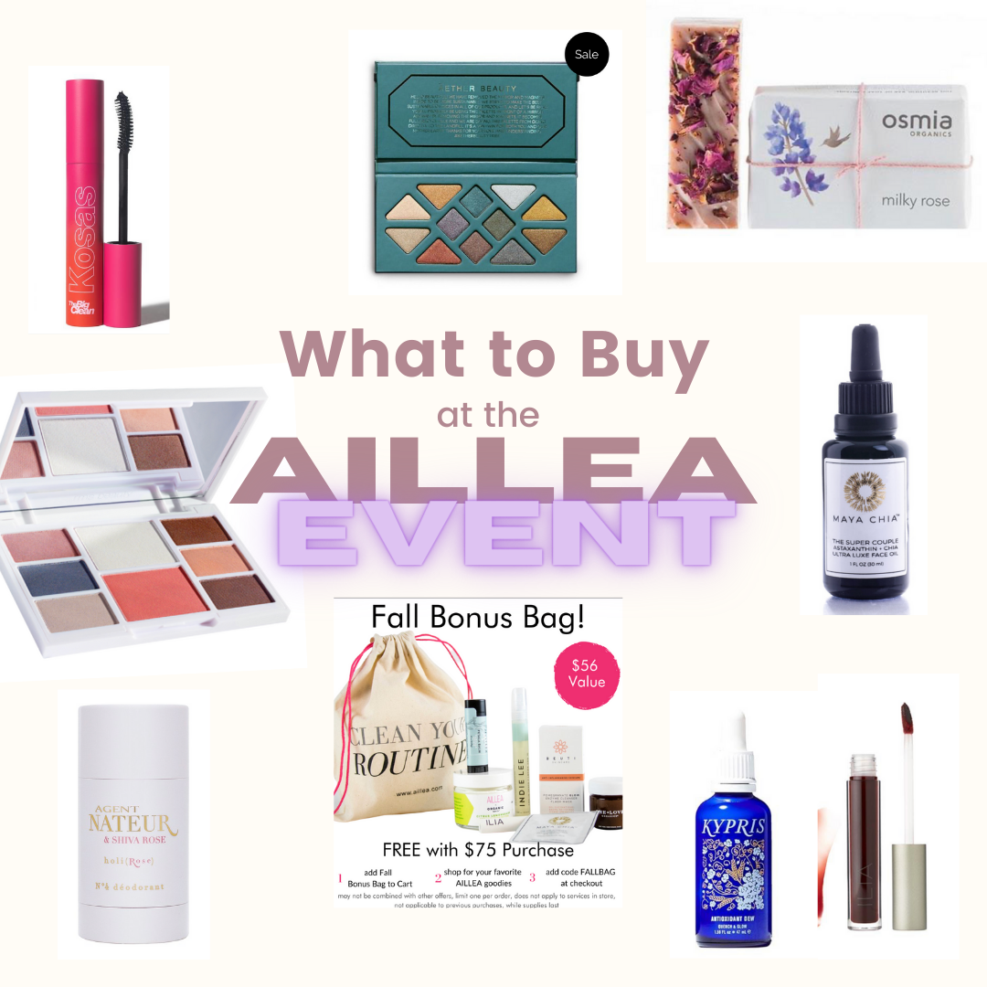 Top picks for Aillea BEAUTY FALL EVENT